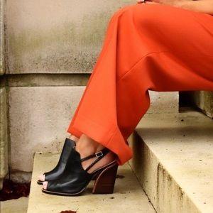 4682ff95944 Clarks Shoes - Clarks Narrative Sarina Billy Nude Peep Toe Heels